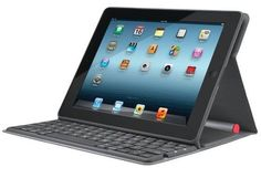 Logitech's Solar Keyboard Folio for the iPad: Sun-powered typing | iPad Atlas - CNET Reviews