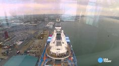Experience Quantum of the Seas' North Star in 60 seconds.  By USA Today