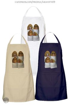 * Potatoes Four Pack Apron by #Gravityx9 at Cafepress * Made of 100% heavy cotton twill * Up to four colors to choose from * This funny potatoes design is available on shirts, mugs, stationery and more. * custom fancy apron gift ideas * cooking accessories * potatoes apron * potato apron * kitchen accessories * #ApronAddiction #partyapron #apron #customapron #giftforchef #giftforcook #kitchen  #cooking  #kitchenstaff #restaurantsupplies  #potato #potatoes #playingwithfood 0720