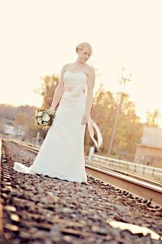 bridal portraits #rustic #outdoor