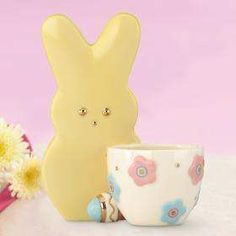 PEEPS Bunny Egg Cup by Lenox #Express Your Peepsonality