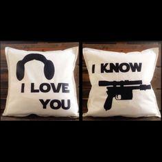 I Love You I Know Throw Pillows!