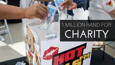 Joburg's HOT FM today celebrated it's third birthday in Sandton city by proving that it is the radio station that cares. Third Birthday, Charity, Baseball Cards, Logos, Sports, Youtube, Hs Sports, Logo, Sport