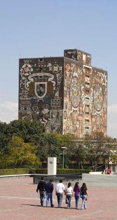 Universidad Nacional Autónoma de México, Mexico City. #Travel #Mexico #LiveItToBelieveIt