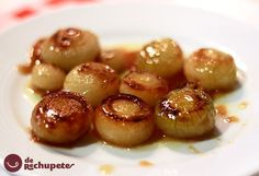 French onions glazed!!! Different & delicious, perfect with meat!!!