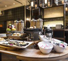 LEMAYMICHAUD | INTERIOR DESIGN | ARCHITECTURE | QUEBEC | Hotel Manoir Victoria Architecture, Victoria, Chocolate Fondue, Quebec, Desserts, Interior Design, Food, The Mansion, Arquitetura