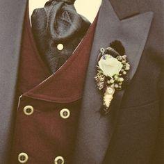 Steampunk wedding: men's attire