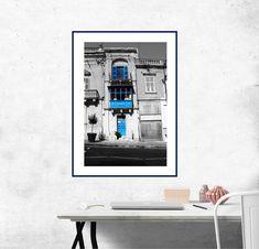 "Blue doors MALTA photo, digital prints XXL 19,6""x12,9"",instant download, art, wall decor, digital print, office and home. by KrisztinARTDesign on Etsy Blue Doors, Malta, Digital Prints, Wall Decor, Handmade Gifts, Etsy, Vintage, Fingerprints, Wall Hanging Decor"