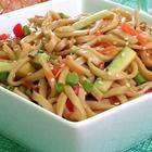 Shanghai Noodle Salad -- could serve hot or cold.
