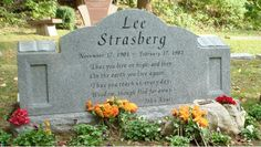 "Lee Strasberg (1901 - 1982) Ran a very famous ""Method"" acting school, artistic director of the Actors Studio"