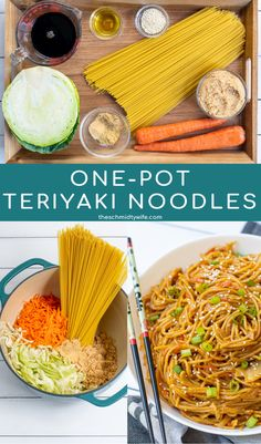 This is a one-pot masterpiece, Teriyaki Noodles Recipe with Vegetables. This easy vegetarian meal is made with vegetables, noodles, and a simple homemade sauce all made in one pot! Perfect as a meatless main dish or the perfect accompaniment to teriyaki chicken. Ready in 25 minutes, your family will fall in love! Recipe | Easy | With Spaghetti | Vegetarian | Homemade Vegetarian Recipes Easy, Vegetable Recipes, Asian Recipes, Japanese Recipes, Vegetarian Meal, Teriyaki Noodles, Teriyaki Chicken, Chicken Stir Fry With Noodles, Simple Spinach Salad