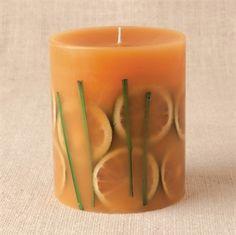Rosy Rings Lemongrass Botanical Candle