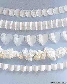 Wedding diy lace paper doilies Ideas for 2019 Diy Lace Paper, Paper Lace Doilies, Doily Art, Doily Wedding, Garland Wedding, Wedding Ceremony, Wedding Vintage, Wedding Church, Backdrop Wedding