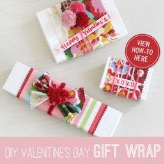 #DIY #ValentinesDay #Vday #Fabric #Yarn idea by @Elena Kovyrzina S