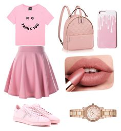 """Pink Outfit 💕"" by justadancelover12 on Polyvore featuring Tod's and Michael Kors"