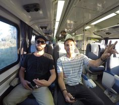 Southbound on the Surfliner….What's your favorite song off the new record??