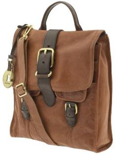 fossil emory north south flap cross-body bag #messenger
