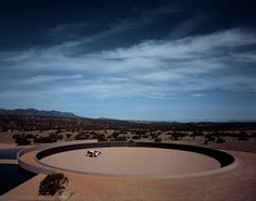Tom Ford Ranch, Tadao Ando, the prefect circle form riding ring!