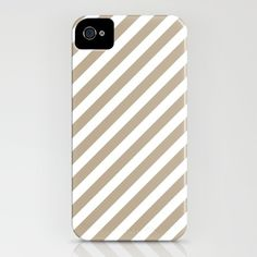 Gold Diag iPhone Case