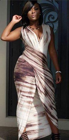 Photo - Google+ V-neck wrap dress