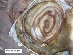 MMR de Ruth de la Puerta. スパニシュデザイナーの絹のスカーフ。