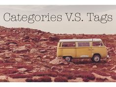 Do you know the difference between categories and tags?