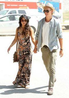 Vanessa Hudgens and boyfriend Austin Butler