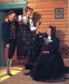 Hello all, This is the second part of my overview of the costumes of Norway. This will cover the central row of provinces in Eastern N. Costumes, Embroidery, Heartland, Formal, Folk, Characters, Outfits, Search, Dresses