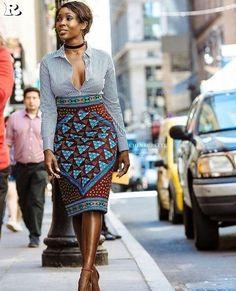 30 African Women's fashion & Ankara Skirt - Reny styles