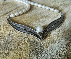 Filigree Jewelry, Silver Filigree, Handcrafted Jewelry, Handmade, Pearl Necklace, Jewelry Design, Necklaces, Pearls, Instagram Posts