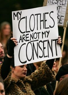 My Clothes Are Not My Consent