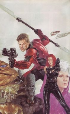 Cover art for Crimson Empire II TPB