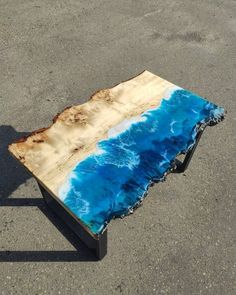 Table Legs, Wood Table, A Table, Epoxy Resin Table, Wood Resin, Cafe Tables, Wood Furniture, Custom Furniture, Mesas