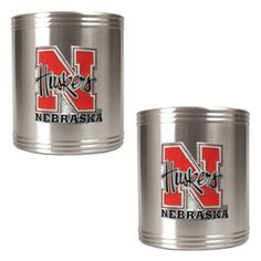 Great American NCAA Stainless Steel Can Holder Set - CZCZ2330
