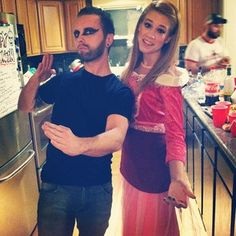 """Mac and Dee from It's Always Sunny in Philadelphia's """"The Nightman Cometh"""" episode.   50 Couple Costume Ideas To Steal This Halloween"""