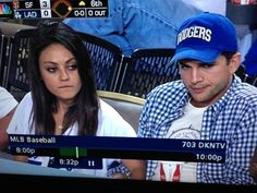 Looks like a new couple has been spotted at a baseball game