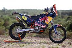 Ktm Cyril Despres Team Red Bull Dakar 2013