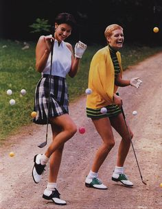 Golfing with best friends