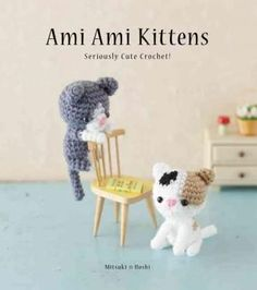 The third colorful and imaginative installment in the illustrated amigurumi series, following Ami Ami Dogs and Ami Ami Dogs 2. Amigurumi, which translates to knitted stuffed toy in Japanese, is the ar