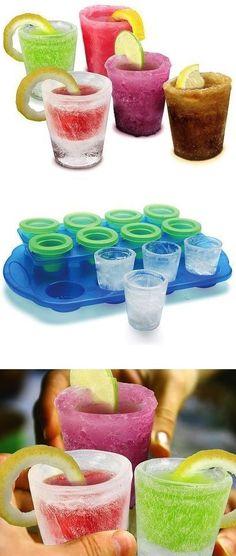 Ice Shot Glass Mold Set