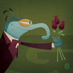 G is for Gonzo by David Vordtriede
