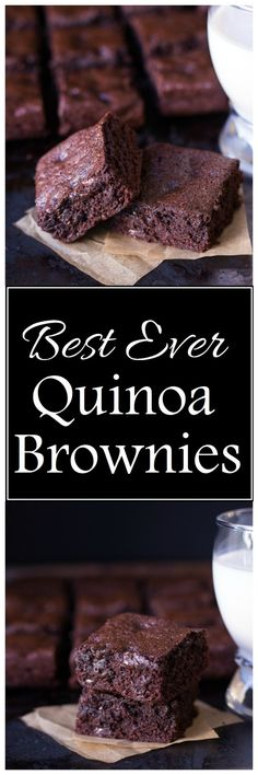 Best-Ever Gluten-Free Quinoa Brownies Recipe