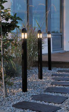 Garden lighting. Lovely pathway.
