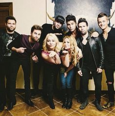 The Swon Brothers and Sam Hunt and Raelynn and Dan and Shay and Chase Bryant