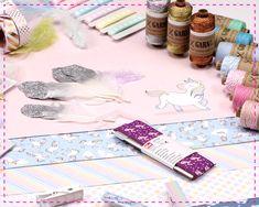 Bei KREANDO gibt es Zauberhaftes Einhorn-Zubehör für deine  Papier- und Bastelstunde! Paper, Unicorn, World, Creative, Do Crafts