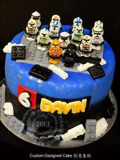 Lego Troopers Cake