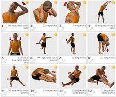 Resultado de imagen de ejercicios de estiramiento basicos