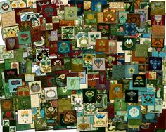 A few from my tile collection for the 2008 Nottingham tile fair.