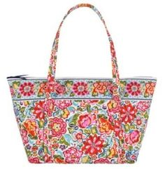 Vera Bradley Miller Bag in Hope Garden $84.95