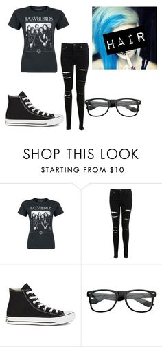 """""""Untitled #90"""" by xxghostlygracexx ❤ liked on Polyvore featuring Miss Selfridge and Converse"""